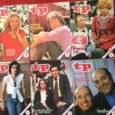 Coleccionismo de Revista Teleprograma: LOTE 12 REVISTAS TP 1979 REVISTA TELEPROGRAMA . Lote 178341203
