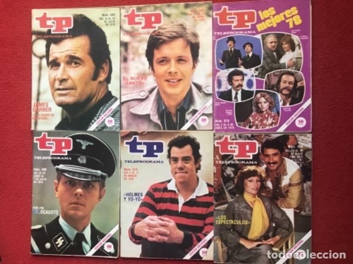 Coleccionismo de Revista Teleprograma: Lote 12 revistas TP 1979 revista teleprograma - Foto 2 - 178341203