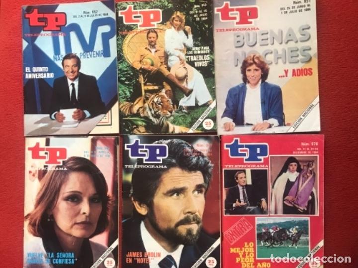 LOTE REVISTA TP 31 REVISTAS DE 1984 TELEPROGRAMA (Coleccionismo - Revistas y Periódicos Modernos (a partir de 1.940) - Revista TP ( Teleprograma ))
