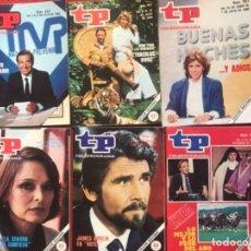 Coleccionismo de Revista Teleprograma: LOTE REVISTA TP 31 REVISTAS DE 1984 TELEPROGRAMA. Lote 178558101
