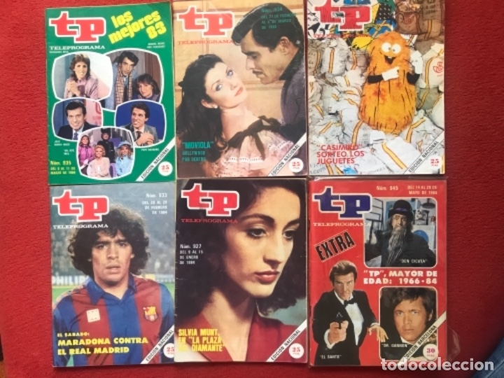 Coleccionismo de Revista Teleprograma: Lote revista tp 31 revistas de 1984 teleprograma - Foto 2 - 178558101
