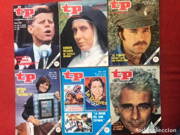 Coleccionismo de Revista Teleprograma: Lote revista tp 31 revistas de 1984 teleprograma - Foto 4 - 178558101
