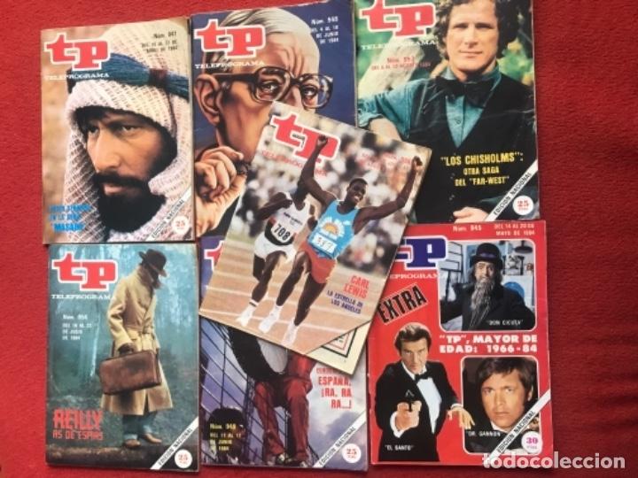 Coleccionismo de Revista Teleprograma: Lote revista tp 31 revistas de 1984 teleprograma - Foto 5 - 178558101