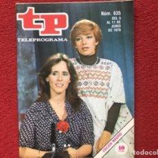 Colecionismo da Revista Teleprograma: REVISTA TP 635 MERCEDES MILA ISABEL TENAILLE 1978. Lote 178589410