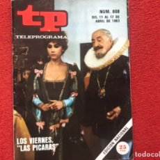 Coleccionismo de Revista Teleprograma: REVISTA TP 888 LAS PICARAS VICTORIA VERA LUIS ESCOBAR 1983. Lote 178644328