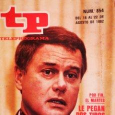 Coleccionismo de Revista Teleprograma: TP - N° 854 AGOSTO 1982. Lote 178865252