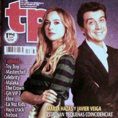 Coleccionismo de Revista Teleprograma: REVISTA TP TELEPROGRAMA 2788. PAREJA POR ACCIDENTE. Lote 179099100