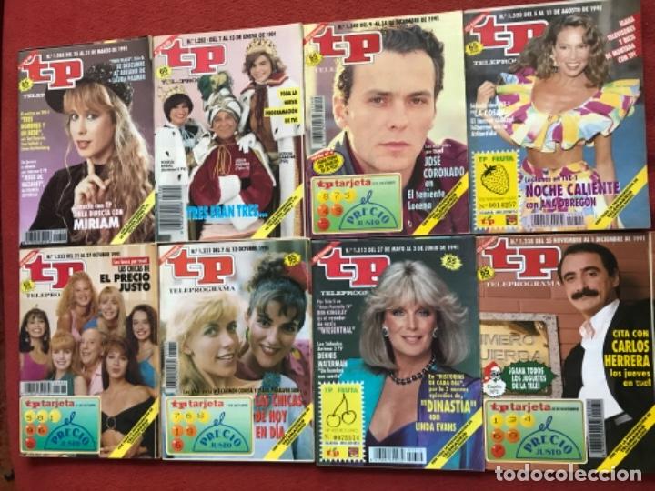 LOTE 50 REVISTAS TP AÑO 1991 TELEPROGRAMA (Coleccionismo - Revistas y Periódicos Modernos (a partir de 1.940) - Revista TP ( Teleprograma ))