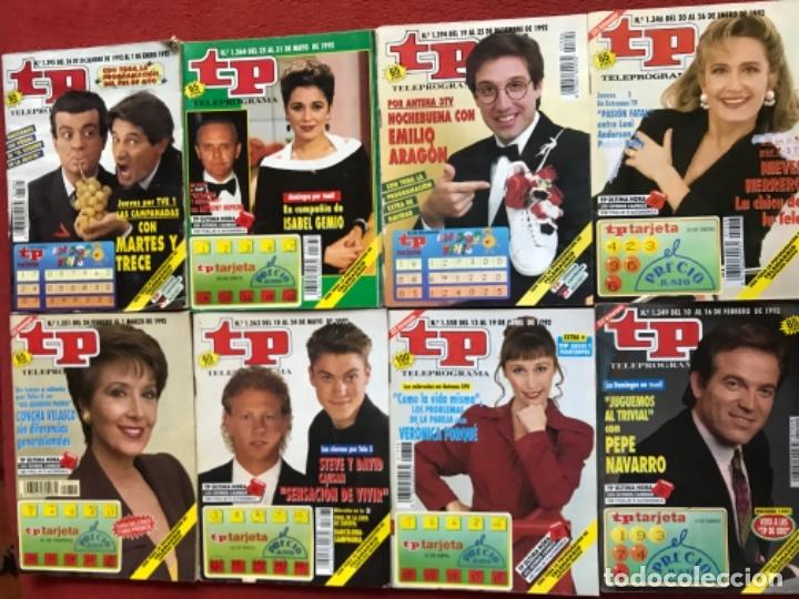 LOTE 50 REVISTAS TP AÑO 1992 TELEPROGRAMA (Coleccionismo - Revistas y Periódicos Modernos (a partir de 1.940) - Revista TP ( Teleprograma ))