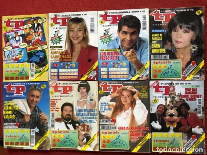 Coleccionismo de Revista Teleprograma: Lote 50 revistas Tp año 1992 teleprograma - Foto 2 - 179519661
