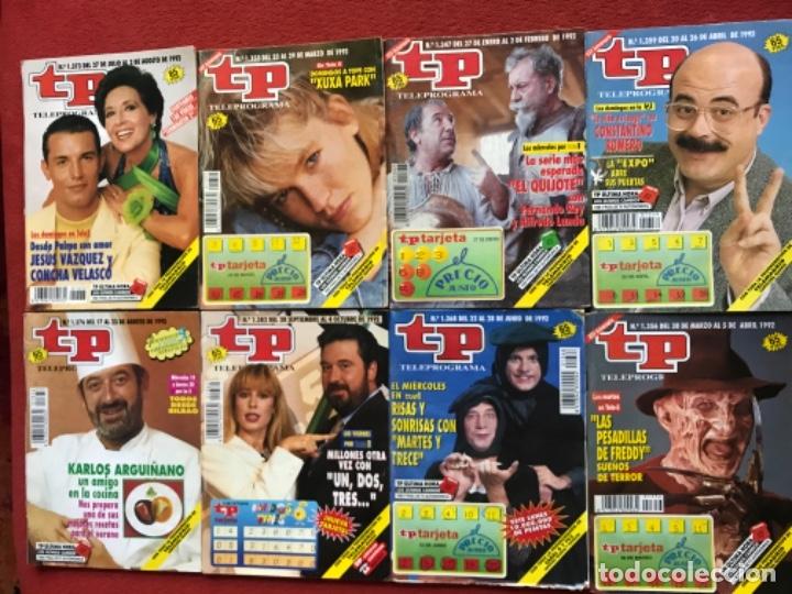 Coleccionismo de Revista Teleprograma: Lote 50 revistas Tp año 1992 teleprograma - Foto 3 - 179519661