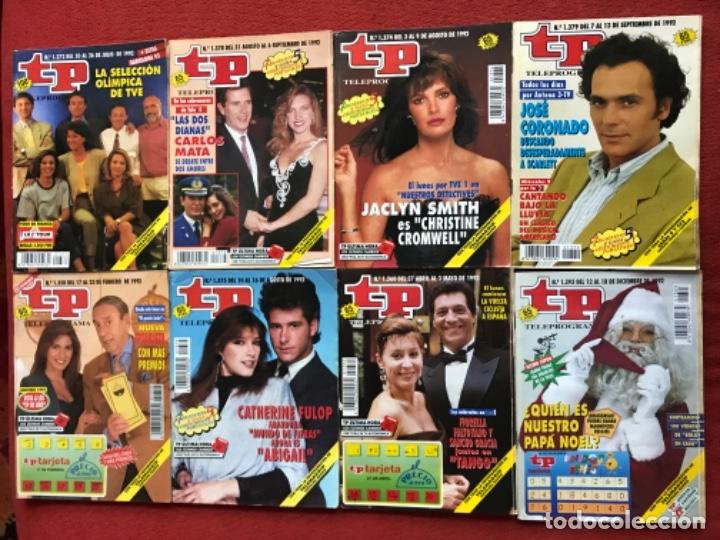 Coleccionismo de Revista Teleprograma: Lote 50 revistas Tp año 1992 teleprograma - Foto 4 - 179519661