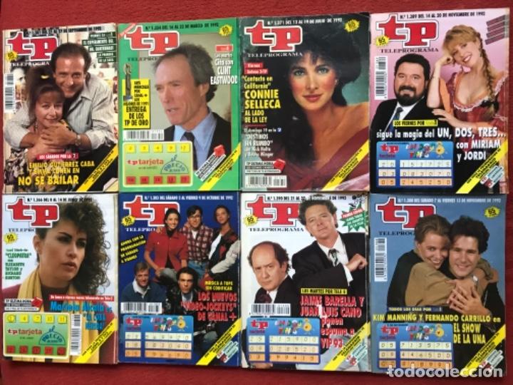 Coleccionismo de Revista Teleprograma: Lote 50 revistas Tp año 1992 teleprograma - Foto 5 - 179519661