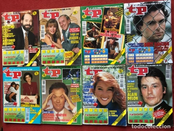 Coleccionismo de Revista Teleprograma: Lote 50 revistas Tp año 1992 teleprograma - Foto 6 - 179519661