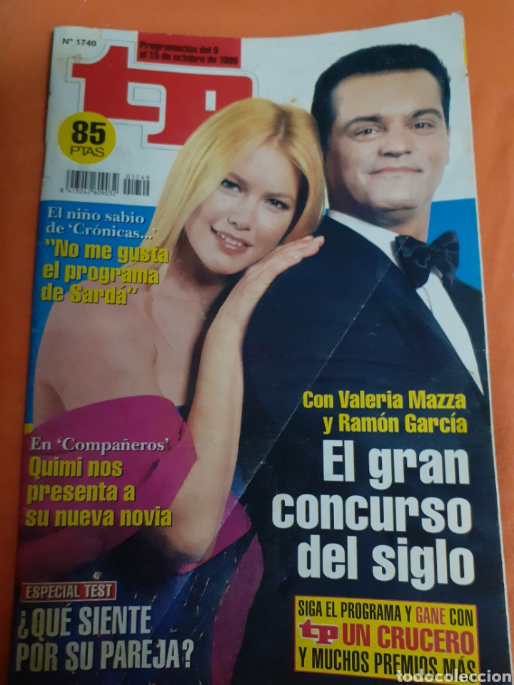 T.P. TELEPROGRAMA 10/1999 (Coleccionismo - Revistas y Periódicos Modernos (a partir de 1.940) - Revista TP ( Teleprograma ))