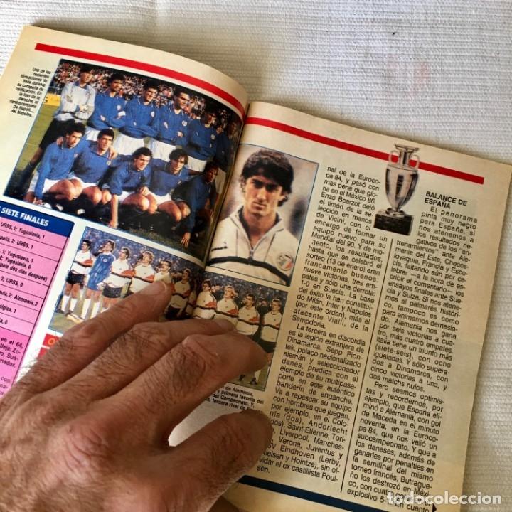 Coleccionismo de Revista Teleprograma: Revista TP nº 1157 - Junio 1988 - Todo sobre la Eurocopa, portada Butragueño Seleccion nacional - Foto 4 - 182100246