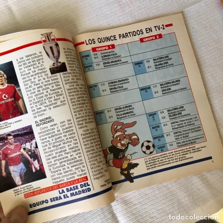Coleccionismo de Revista Teleprograma: Revista TP nº 1157 - Junio 1988 - Todo sobre la Eurocopa, portada Butragueño Seleccion nacional - Foto 5 - 182100246