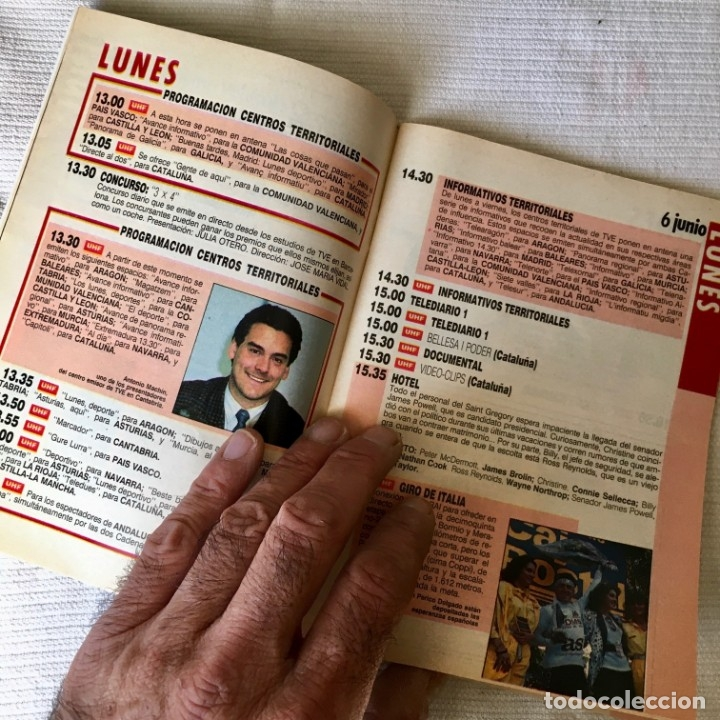 Coleccionismo de Revista Teleprograma: Revista TP nº 1157 - Junio 1988 - Todo sobre la Eurocopa, portada Butragueño Seleccion nacional - Foto 7 - 182100246
