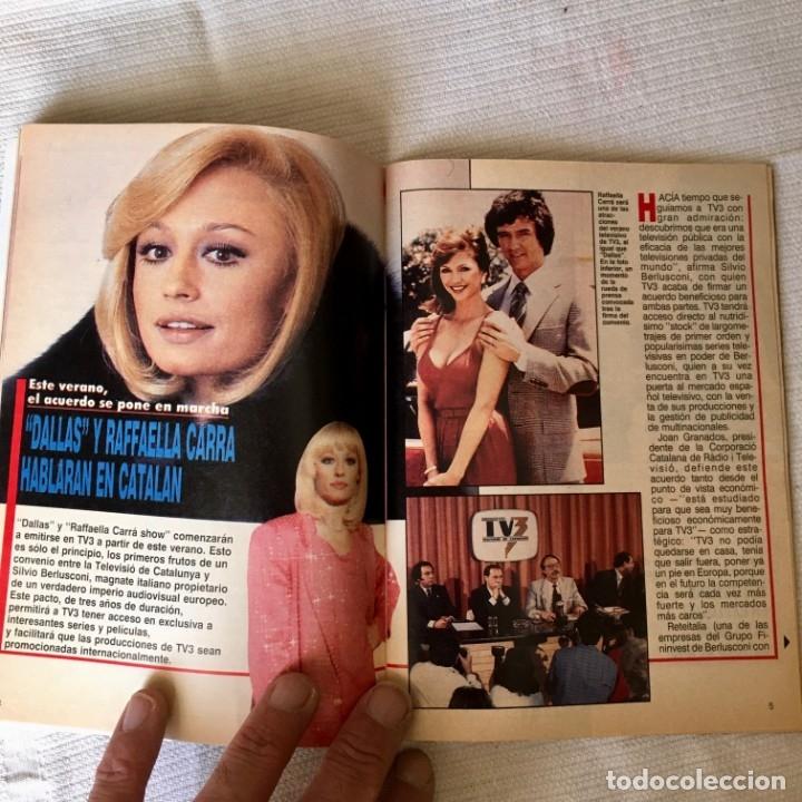 Coleccionismo de Revista Teleprograma: Revista TP nº 1157 - Junio 1988 - Todo sobre la Eurocopa, portada Butragueño Seleccion nacional - Foto 9 - 182100246