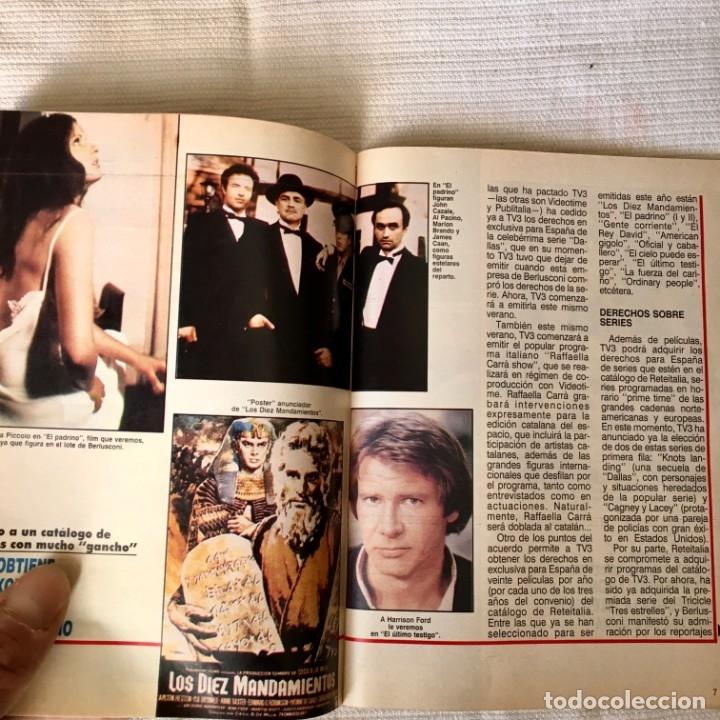 Coleccionismo de Revista Teleprograma: Revista TP nº 1157 - Junio 1988 - Todo sobre la Eurocopa, portada Butragueño Seleccion nacional - Foto 10 - 182100246