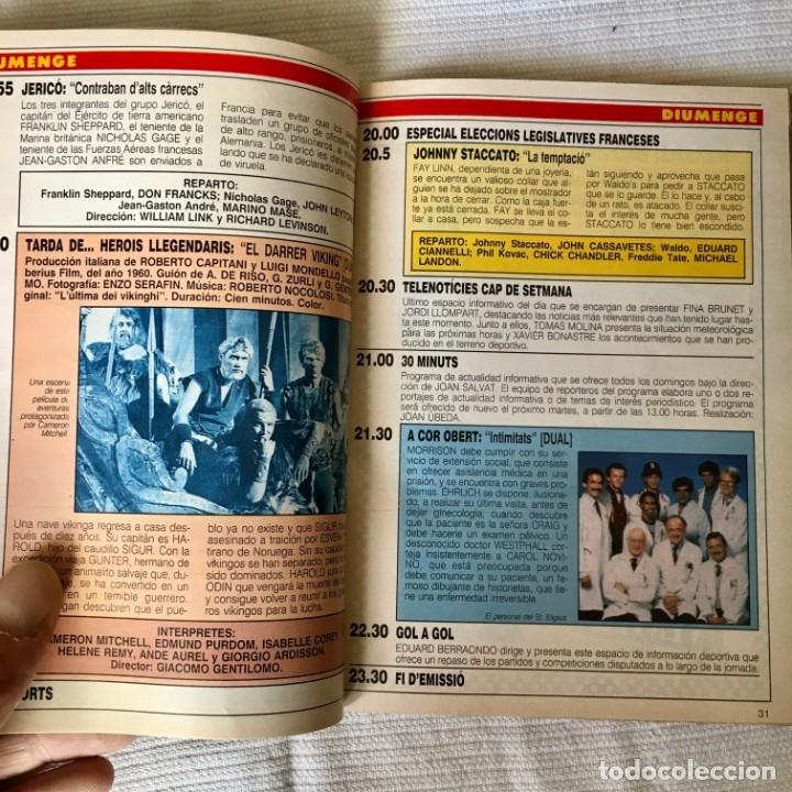 Coleccionismo de Revista Teleprograma: Revista TP nº 1157 - Junio 1988 - Todo sobre la Eurocopa, portada Butragueño Seleccion nacional - Foto 11 - 182100246