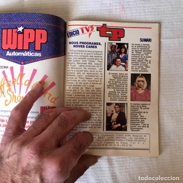 Coleccionismo de Revista Teleprograma: Revista TP nº 1161 - del 4 al 10 de Julio 1988 - portada Norma Duval - Foto 5 - 182100620
