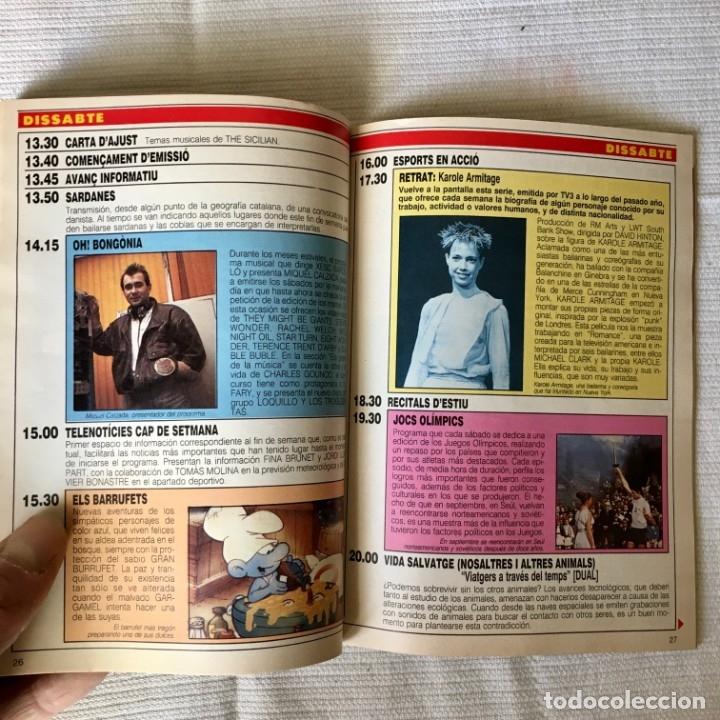 Coleccionismo de Revista Teleprograma: Revista TP nº 1161 - del 4 al 10 de Julio 1988 - portada Norma Duval - Foto 6 - 182100620