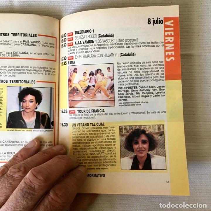 Coleccionismo de Revista Teleprograma: Revista TP nº 1161 - del 4 al 10 de Julio 1988 - portada Norma Duval - Foto 7 - 182100620