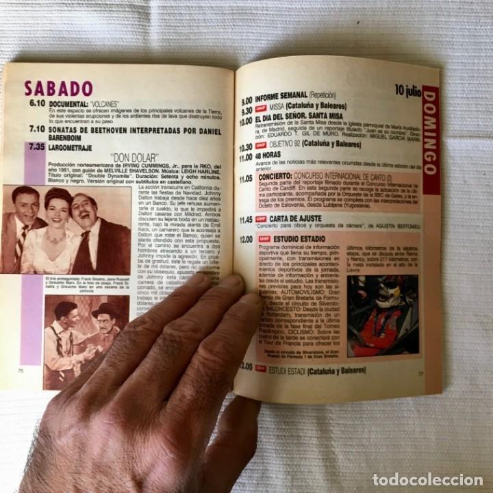 Coleccionismo de Revista Teleprograma: Revista TP nº 1161 - del 4 al 10 de Julio 1988 - portada Norma Duval - Foto 8 - 182100620