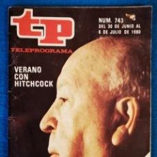 Coleccionismo de Revista Teleprograma: TP - JUNIO 1980. Lote 183549638