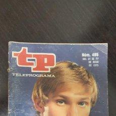 Coleccionismo de Revista Teleprograma: REVISTA TP TELEPROGRAMA Nº 485 - RICHARD THOMAS. EDICION CANARIAS.. Lote 184042401