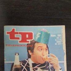 Coleccionismo de Revista Teleprograma: REVISTA TP TELEPROGRAMA Nº 561 - FELIZ AÑO. EDICION CANARIAS.. Lote 184043550