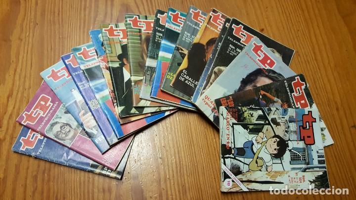 LOTE 18 REVISTAS TP TELEPROGRAMA !!EDICIÓN CANARIAS!!. MAS 4 REVISTAS TP SIN PORTADA. (Coleccionismo - Revistas y Periódicos Modernos (a partir de 1.940) - Revista TP ( Teleprograma ))