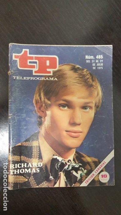 Coleccionismo de Revista Teleprograma: LOTE 18 REVISTAS TP TELEPROGRAMA !!EDICIÓN CANARIAS!!. MAS 4 REVISTAS TP SIN PORTADA. - Foto 2 - 184309768
