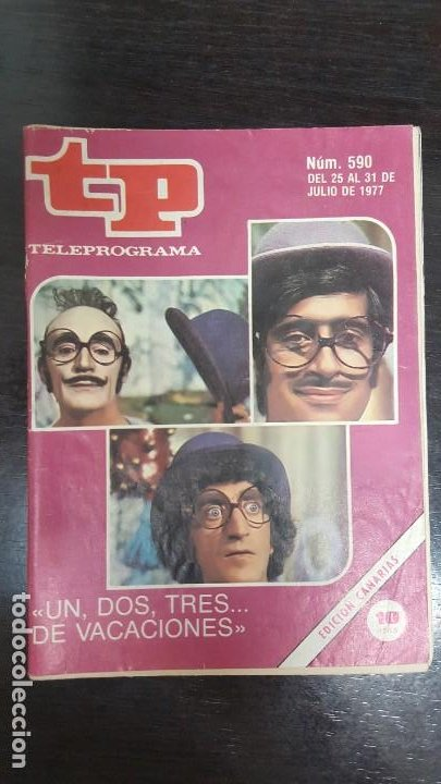 Coleccionismo de Revista Teleprograma: LOTE 18 REVISTAS TP TELEPROGRAMA !!EDICIÓN CANARIAS!!. MAS 4 REVISTAS TP SIN PORTADA. - Foto 3 - 184309768