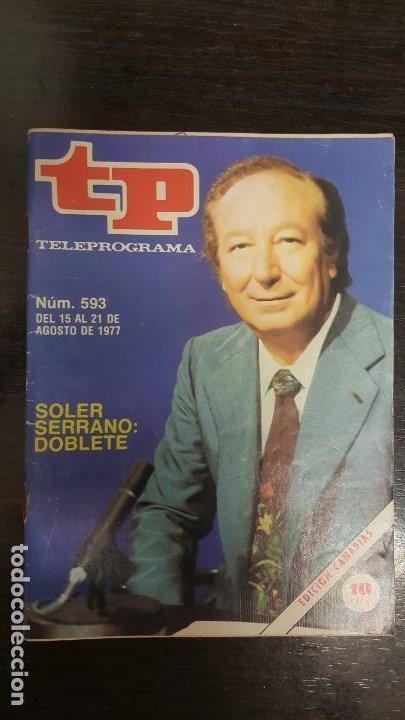 Coleccionismo de Revista Teleprograma: LOTE 18 REVISTAS TP TELEPROGRAMA !!EDICIÓN CANARIAS!!. MAS 4 REVISTAS TP SIN PORTADA. - Foto 4 - 184309768