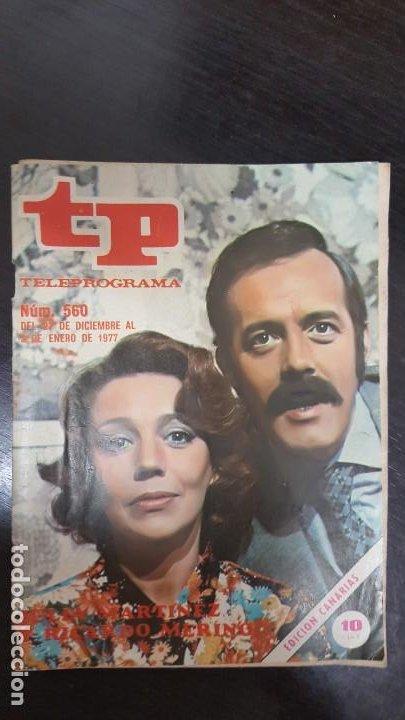 Coleccionismo de Revista Teleprograma: LOTE 18 REVISTAS TP TELEPROGRAMA !!EDICIÓN CANARIAS!!. MAS 4 REVISTAS TP SIN PORTADA. - Foto 11 - 184309768
