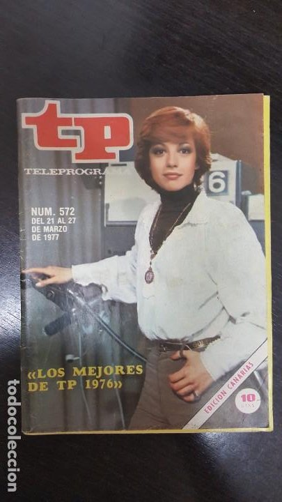 Coleccionismo de Revista Teleprograma: LOTE 18 REVISTAS TP TELEPROGRAMA !!EDICIÓN CANARIAS!!. MAS 4 REVISTAS TP SIN PORTADA. - Foto 12 - 184309768