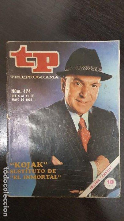 Coleccionismo de Revista Teleprograma: LOTE 18 REVISTAS TP TELEPROGRAMA !!EDICIÓN CANARIAS!!. MAS 4 REVISTAS TP SIN PORTADA. - Foto 16 - 184309768