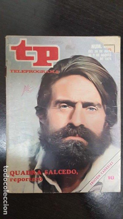 Coleccionismo de Revista Teleprograma: LOTE 18 REVISTAS TP TELEPROGRAMA !!EDICIÓN CANARIAS!!. MAS 4 REVISTAS TP SIN PORTADA. - Foto 18 - 184309768