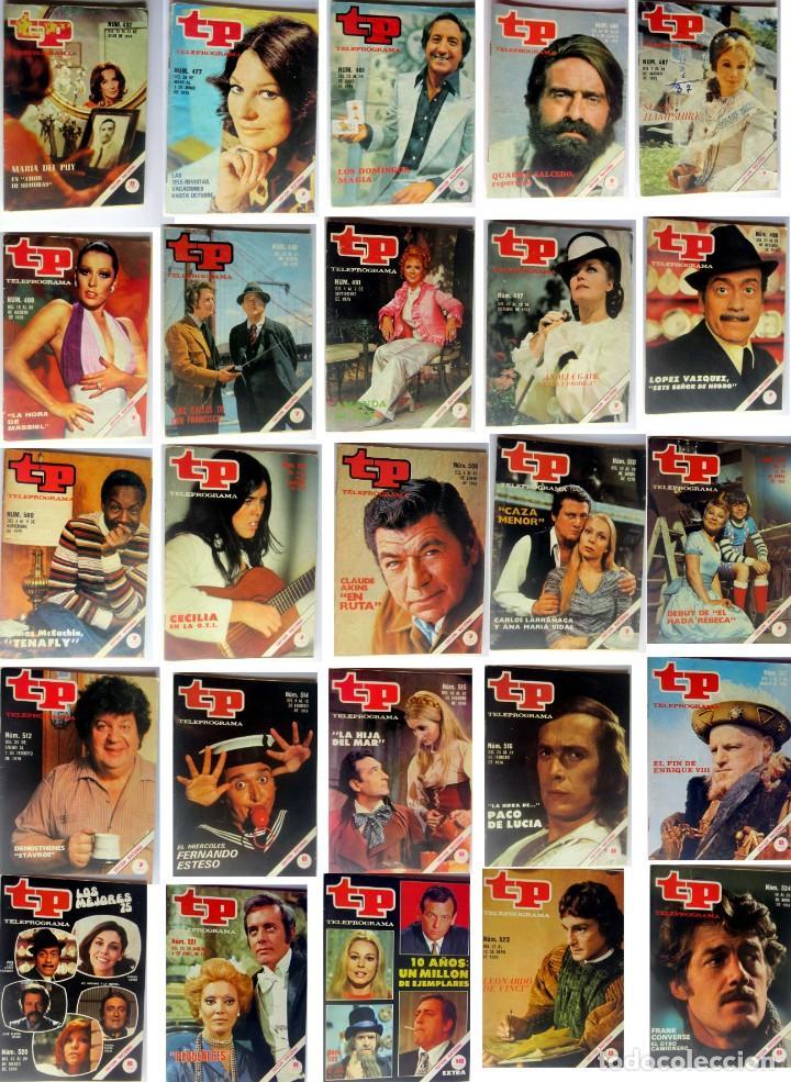 TP- TELEPROGRAMA LOTE DE 173 REVISTAS EN PERFECTO ESTADO (Coleccionismo - Revistas y Periódicos Modernos (a partir de 1.940) - Revista TP ( Teleprograma ))