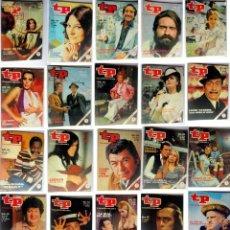 Coleccionismo de Revista Teleprograma: TP- TELEPROGRAMA LOTE DE 173 REVISTAS EN PERFECTO ESTADO. Lote 184453830