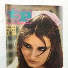Coleccionismo de Revista Teleprograma: TP AÑO 1968 NÚMERO 114. ORIGINAL ANTIGUO. R80. Lote 184459025