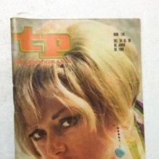 Coleccionismo de Revista Teleprograma: TP AÑO 1968 NÚMERO 116 ORIGINAL ANTIGUO. R80. Lote 184459648