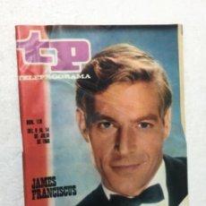 Coleccionismo de Revista Teleprograma: TP AÑO 1968 ORIGINAL ANTIGUO. R80. Lote 184459980