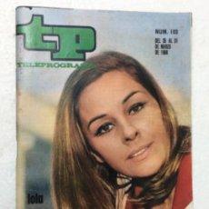 Coleccionismo de Revista Teleprograma: TP AÑO 1968 ORIGINAL ANTIGUO. R80. Lote 184460078