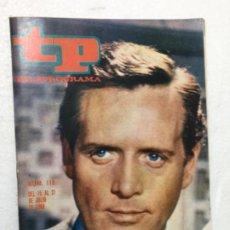 Coleccionismo de Revista Teleprograma: TP AÑO 1968 ORIGINAL ANTIGUO. R80. Lote 184460130