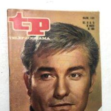 Coleccionismo de Revista Teleprograma: TP AÑO 1968 ORIGINAL ANTIGUO. R80. Lote 184460362