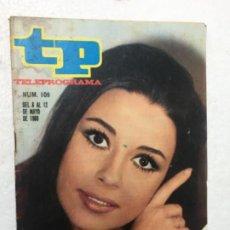 Coleccionismo de Revista Teleprograma: TP MÓNICA RANDALL 109 AÑO 1968 ORIGINAL ANTIGUO. R80. Lote 184460403