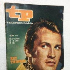 Coleccionismo de Revista Teleprograma: TP 112 AÑO 1968 ORIGINAL ANTIGUO. R80. Lote 184460593